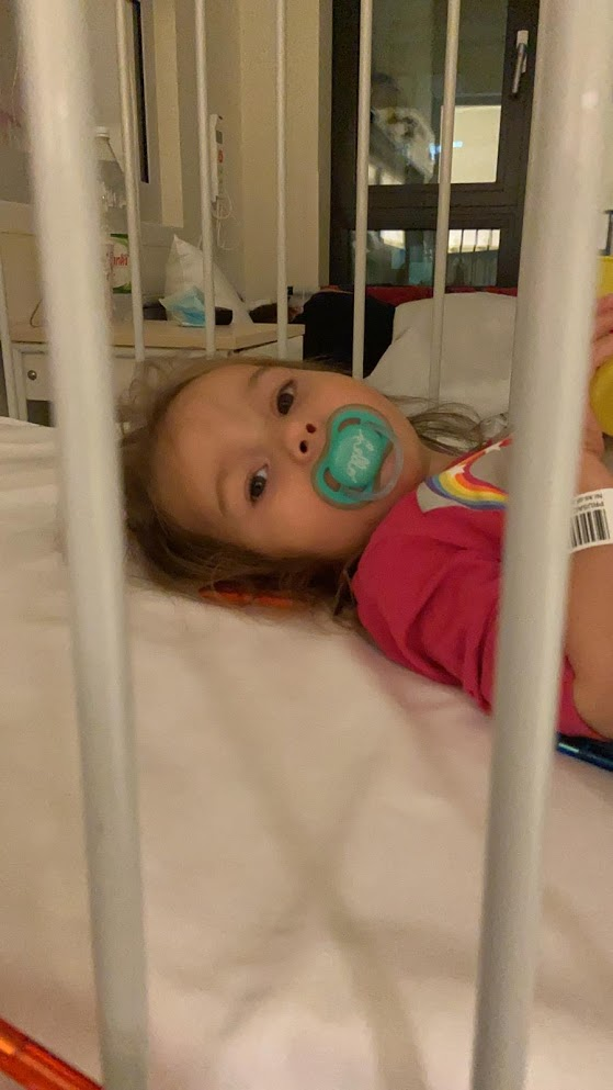 Maryla Prusaczyk w szpitalu na kolejnych badaniach diagnostycznych